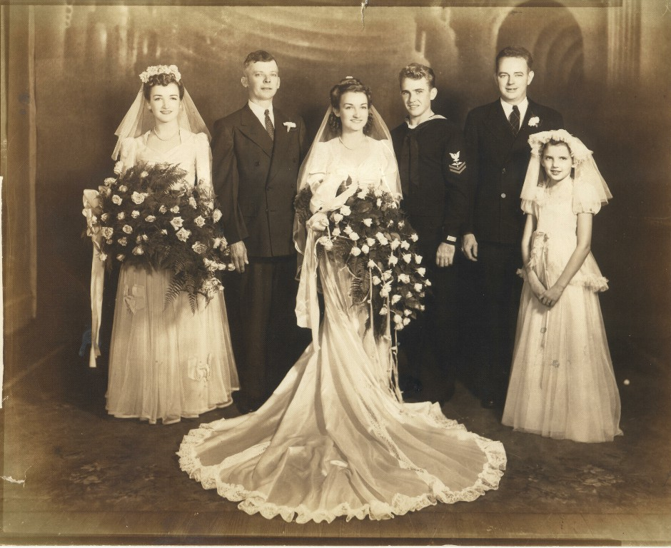 The first wedding in the cultural development of a bride with a white wedding record