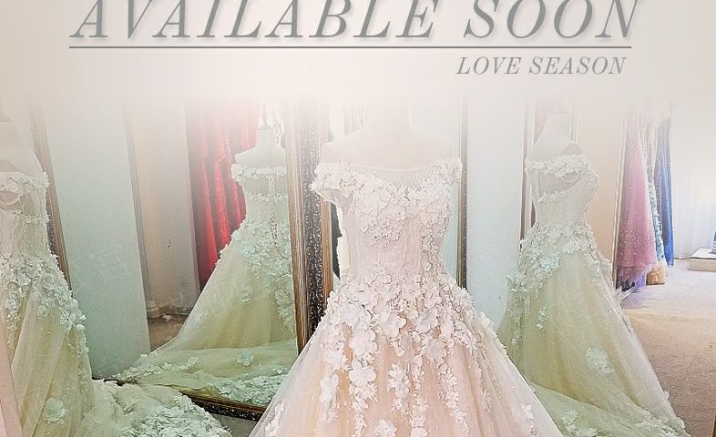 Upcoming sales in the official website Wedding Dress 2018